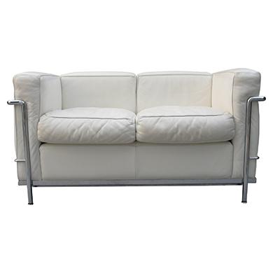Le Corbusier -  LC2 (2er Sofa)